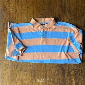 Izod striped polo , men's size 3x .